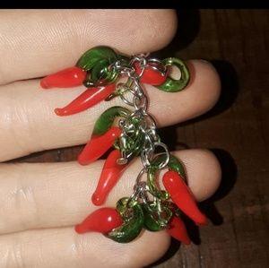 Jewelry - Chili pepper earrings